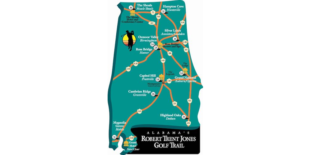 How to Conquer the Robert Trent Jones Golf Trail in Alabama